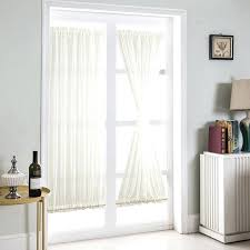 details about white beige french door curtains blackout patio glass curtain panel panels sliding patio door curtain