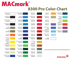 Mactac Vinyl Color Chart Related Keywords Suggestions