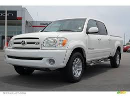 2005 Natural White Toyota Tundra Limited Double Cab #13085031 ...