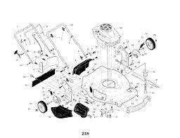 Craftsman model 917376390 walk behind lawnmower gas genuine parts