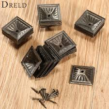 decorative nails for furniture. 50Pcs Antique Bronze Square Nailhead Upholstery Decorative Nails Tack Stud Jewelry Wooden Box Furniture Pushpin Doornail 21x21mm-in From Home For Y