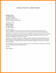 Ideas Collection Professional Thank You Letter After Interview