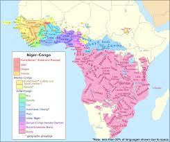 Niger Congo Languages Wikipedia