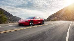 Tesla Roadster 4K 3 Wallpaper