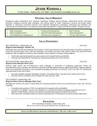 Resume Templates For Restaurant Managers Or Sales Executive Resume