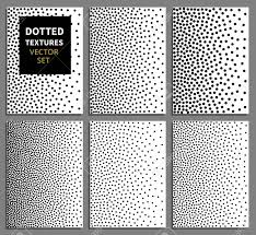 Dot Patterns Magnificent Black Dots Gradient Vertical Seamless Background Set Dots Patterns