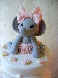 Fondant Elephant Cake Topper Baby Shower Invitations Party City