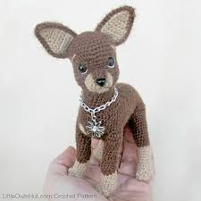 Crochet Dog Pattern Beauteous Ravelry 48 Dog Toy Terrier Amigurumi Pattern By LittleOwlsHut