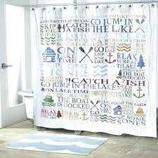 lake house shower curtains new at cabin 9 design this is curtain says it all window curtains ready made luxury the lake house rules shower curtain