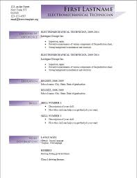 2014 Resume Templates 64 Images Free Cv Templates 205 To 211