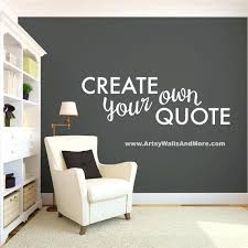 wall decal for office. Office Decals Unique Quotes For Wall Vinyl Create Your  Own Quote By . Free Shipping Inspirational Decal