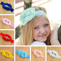 Pearl Chiffon Shabby Headband Price Comparison | <b>Buy</b> Cheapest ...