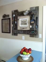 N Stunning Diy Kitchen Wall Ideas With Fruit Place Above Blue Table