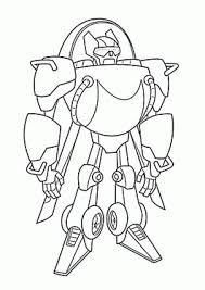 Dino Rescue Bots Coloring Pages