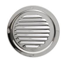 dive n dog vent r 5 stainless steel 5 inch boat engine vent cover