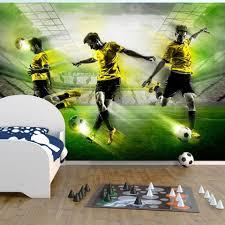 Fotobehang Lets Play Voetbal 350x245 Blokker