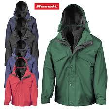 result 3 in 1 men s outdoor wind waterproof jacket heavy duty fleece lined coat