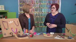 Ashley Bunting demonstrates on Beads, Baubles & Jewels - YouTube