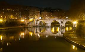 Ponte Sisto, Rome, Italie photo stock. Image du imaginaire - 79607774