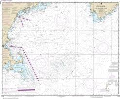 Gulf Of Maine Chart 13009 Gulf Of Maine And Georges Bank East Coast Nautical Chart
