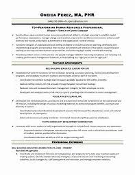 Bilingual Recruiter Resume Hr Recruiter Resume Objective Free Resume