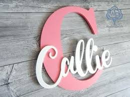 wooden name letters name sign letter personalized wooden name nursery decor kids wooden wall signs personalized