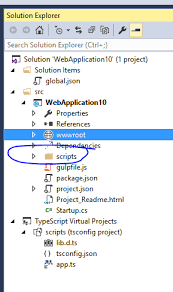 ASP.NET Core · TypeScript