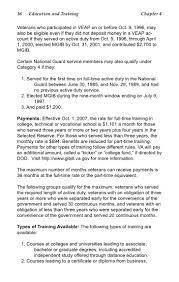 Veteran Benefit Guide 2008