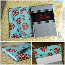 fabric book cover diy cover guest post craftionary