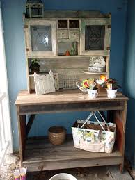 potting benches from old door the potting bench made from 120 year old barn wood