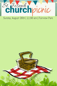 Picnic Template Church Picnic Template Postermywall