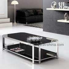 china living room furniture tea table for metal base china coffee table glass table