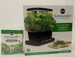 aerogarden miracle gro harvest with gourmet herbs seed pod kit