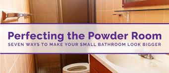 small bathrooms rank more as the norm than the exception few of us have the sprawling bathroom space we d like so we seek ways to spruce up the restroom