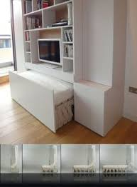 Lots of pictures of great ideas for space saving beds, including murphy beds