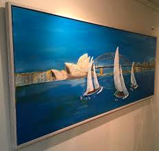 sydney harbour ana 2550x1050mm 2495