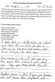 year old brady s persuasive essay gets his school nurse some  so as i said before please notice our school nurse more