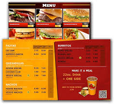 Make A Menu For A Restaurant Digital Menu Boards Ipad Point Of Sale System For