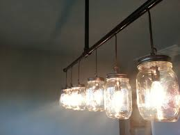 mason jar track lighting. custom made mason jar chandelier track lighting