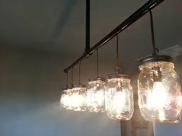 track lighting chandelier. A Handmade Mason Jar Chandelier Made To Order From Route 66 Track Lighting Y