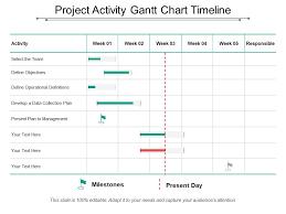 Project Activity Gantt Chart Timeline Template