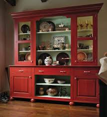 Red Country Kitchen Cabinets European Red Country Hutch Home Red Country Decorate Hutch Shelves