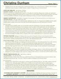 One Page Resume Template Sarahepps Com
