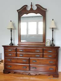 updating a dresser with new pulls