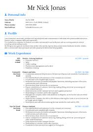 Resume Examples By Real People Licensing Administrator At Arvato Cv