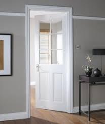 white doors with glass. Fine Doors B Avesta 6 Lite Primed Clear Glazed Internal Door NAT26AD6PTG White  For White Doors With Glass T