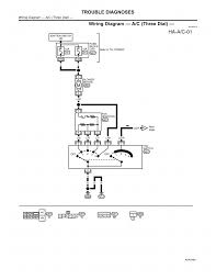 Wiring diagram a c three dial page 01 2000