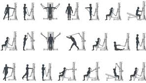 Tuff Stuff Exercise Charts Exercises Using The Cable