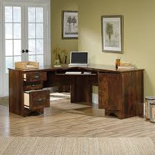 sauder 417586 harbor view corner computer desk a2 salt oak cool furniture ideas