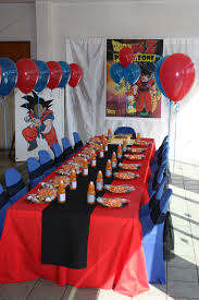 Dragon Ball Z Decorations Dragonball Z party Kids Zone Pinterest Dragon ball Dragons 3